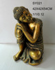 Wholesale gold plated buddha statue