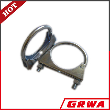Heavy duty U Bolt Clamp for exhaust pipes