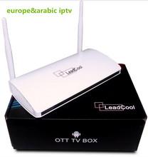 Smart Android Quad Core Arabic IPTV box Arabox 400+ IPTV Arabic