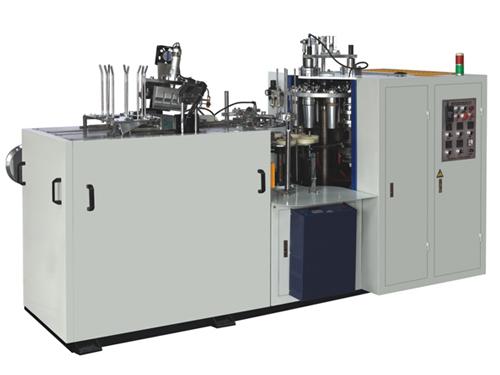 2.5-12 Oz Çift PE Yarı otomatik alüminyum folyo kağıt bardak yapma makinesi fiyatları/kağıt çay bardağı makinesi fiyat