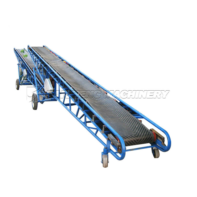 China Small Mobile Rubber Grain Belt Conveyor For Sale/specialized Belt  Conveyors Price - Buy Small Mobile Rubber Belt Conveyor For Sale,Small  Grain