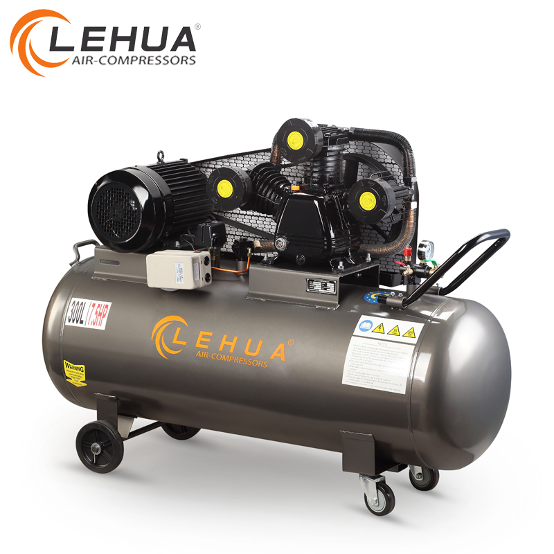 300litre 7.5hp 380 volt 3 cylinders piston outstanding air compressor