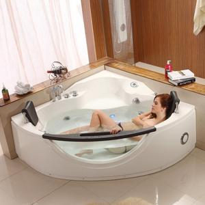 Indoor Jacuzzy Function Massage Plastic Adult Bath Tub