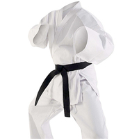 Lightweight Karate Uniform Gi White Martial Arts Wear