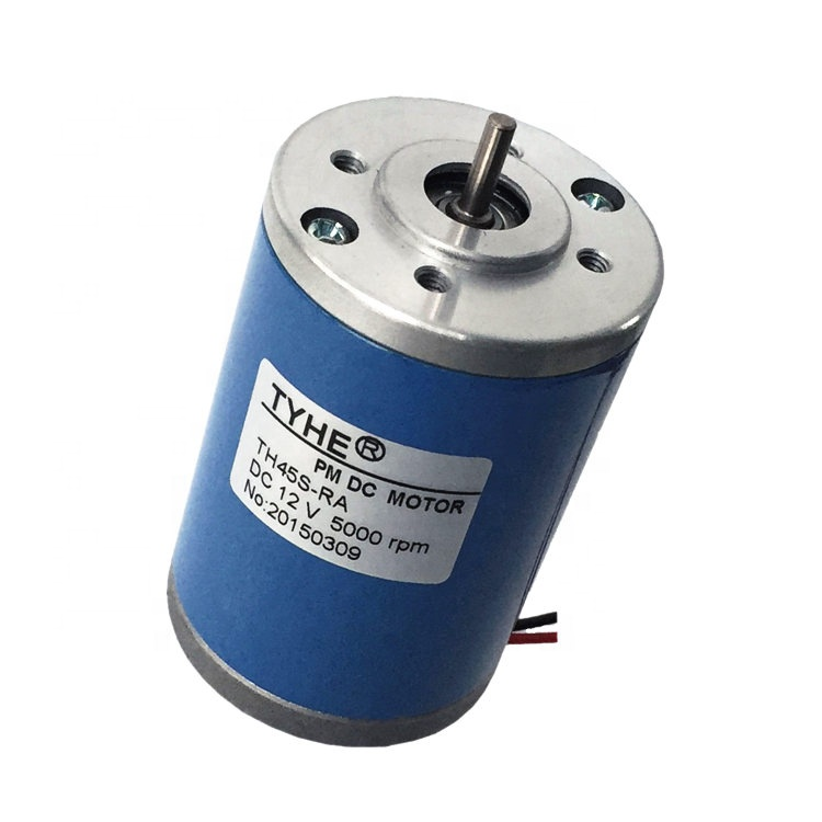 Hot Selling Commodity Stocks 45mm diameter 12v 24v 50w high power dc neodymium magnet tubular motor for Fishing equipment