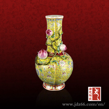 Qing Dynasty Antique China Flower Vase With Painting Designs Buy