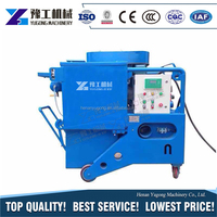 YG factory direct supply small shot blasting machine walking mode speed automatic walking for private households