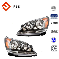 DOT Replacement for Honda Van 33150SHJA51 33100SHJA51 Driver and Passenger Headlights Headlamps