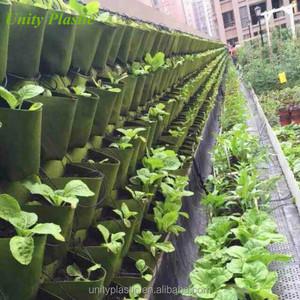 Outdoor Felt Vertical Garden Grow Bags Planter Bag