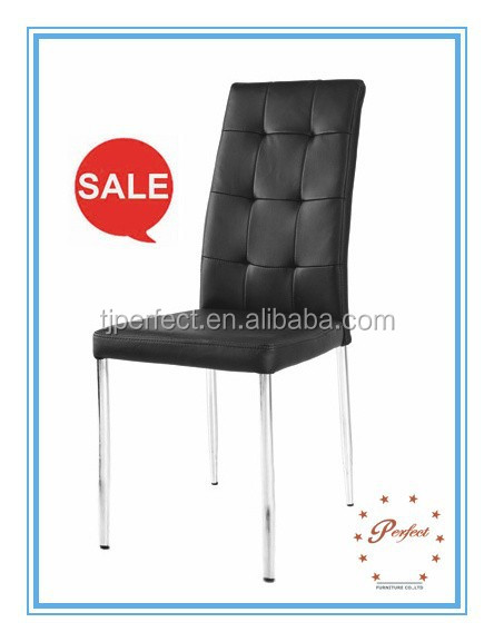 Best quality Strong Cheap PU dining chair restaurant used chairs PDC14968