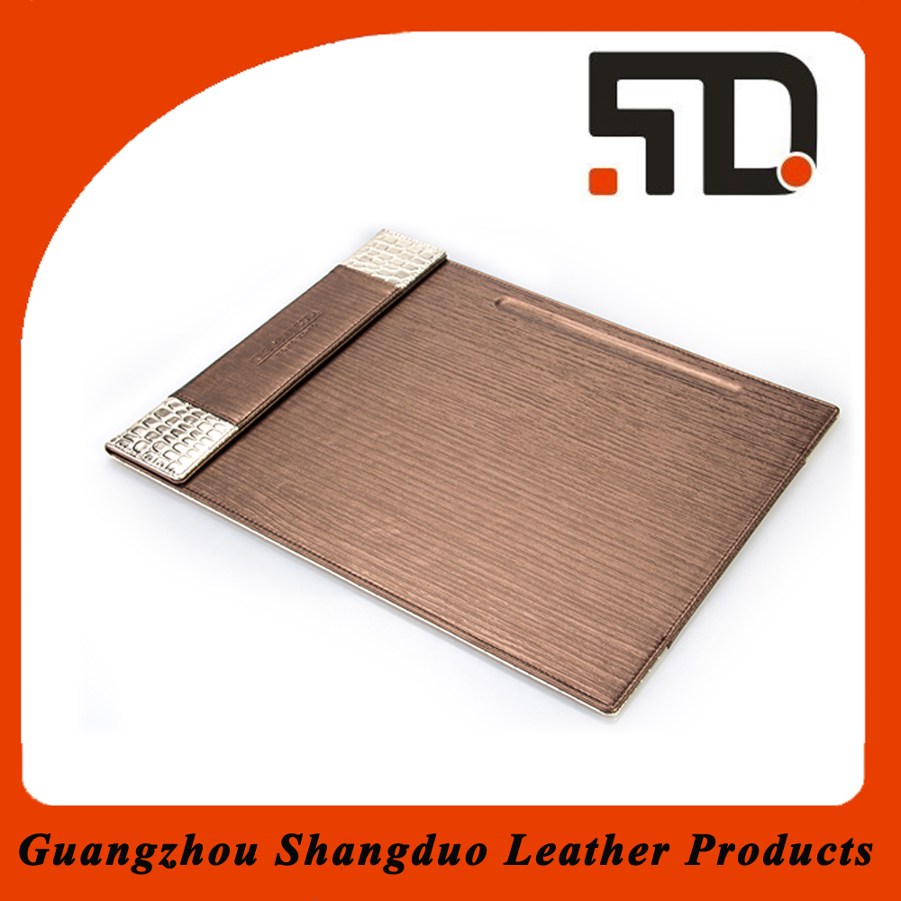 Factory Promotion Leather Executive Desk Pad Electronic Custom Memo Pad
