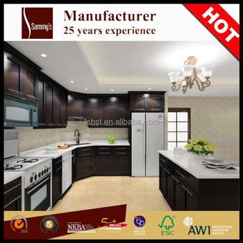 Ak1639 Gabinete Miami Listos Para Montar Moderno Gabinete De Cocina ...