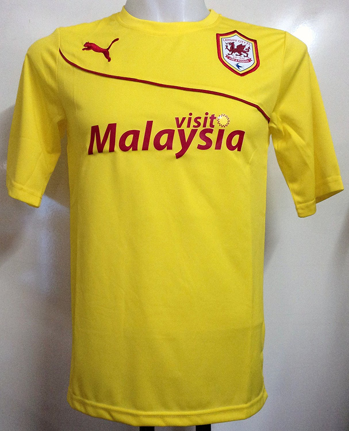 2013-14 Cardiff City Away Football Shirt