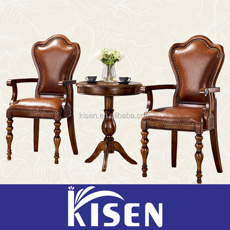 Dinning room solid wood furniture bedroom book chairs L02