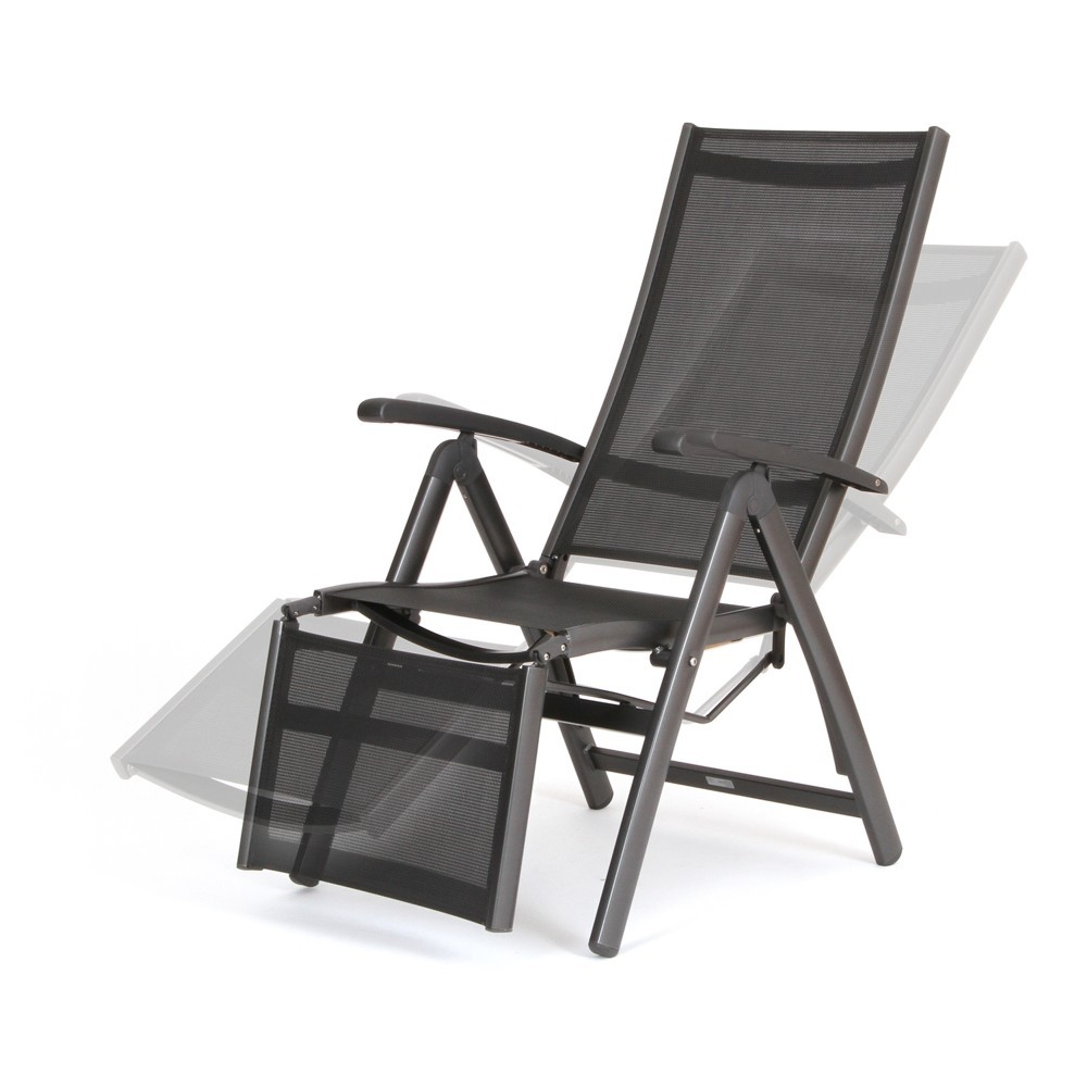 8 Position Adjustable Back Outdoor Furniture Foldable Rattan