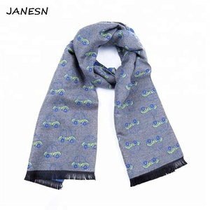 Wholesale Winter Multi Designs Kids Children Viscose Knit Scarf For Boys Girls