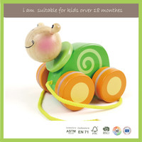 Children Play Top Selling Wooden Push Toys For Toddlers