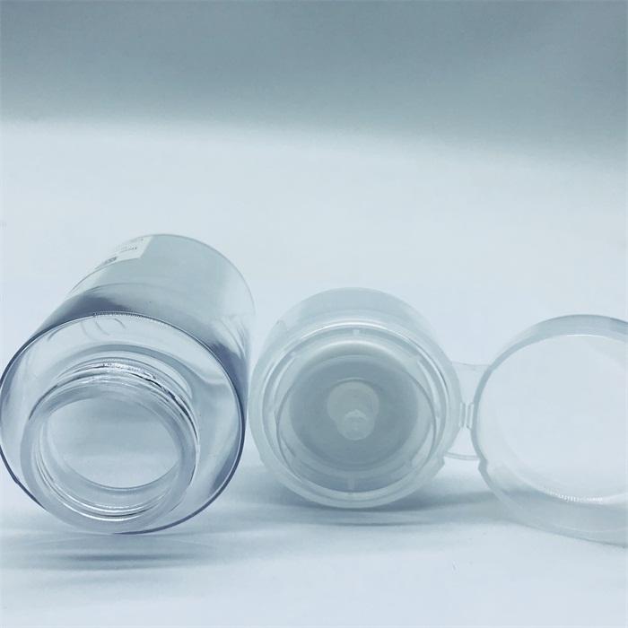 Çin Tedarikçisi Boş 200 Ml Plastik Makyaj Petg Oje Çıkarıcı pompa şişesi