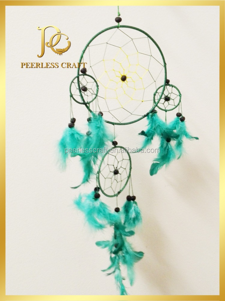 Mint Green Indian Dream Catcher