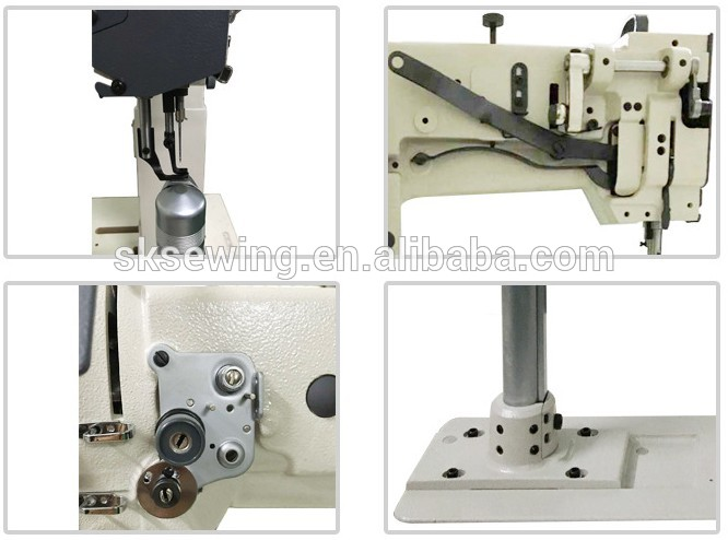 8365 post ped industrial leather sewing machine for shoe bag
