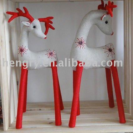 Adornos De Navidad En Tela Santa Mueco De Nieve De Diseo De La Tela