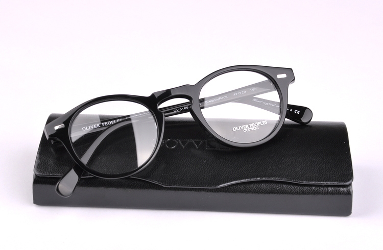 d88d8861d7e Get Quotations · Freeshipping Vintage Optical Glasses Frame Brand Oliver  Peoples Peck ov 5186 Gregory Eyeglasses for Women and