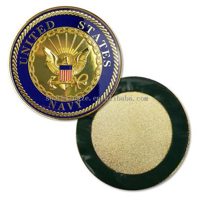 US Navy Kebanggaan Emas Bulat Tantangan Koin Eagle Militer Amerika Serikat Koin