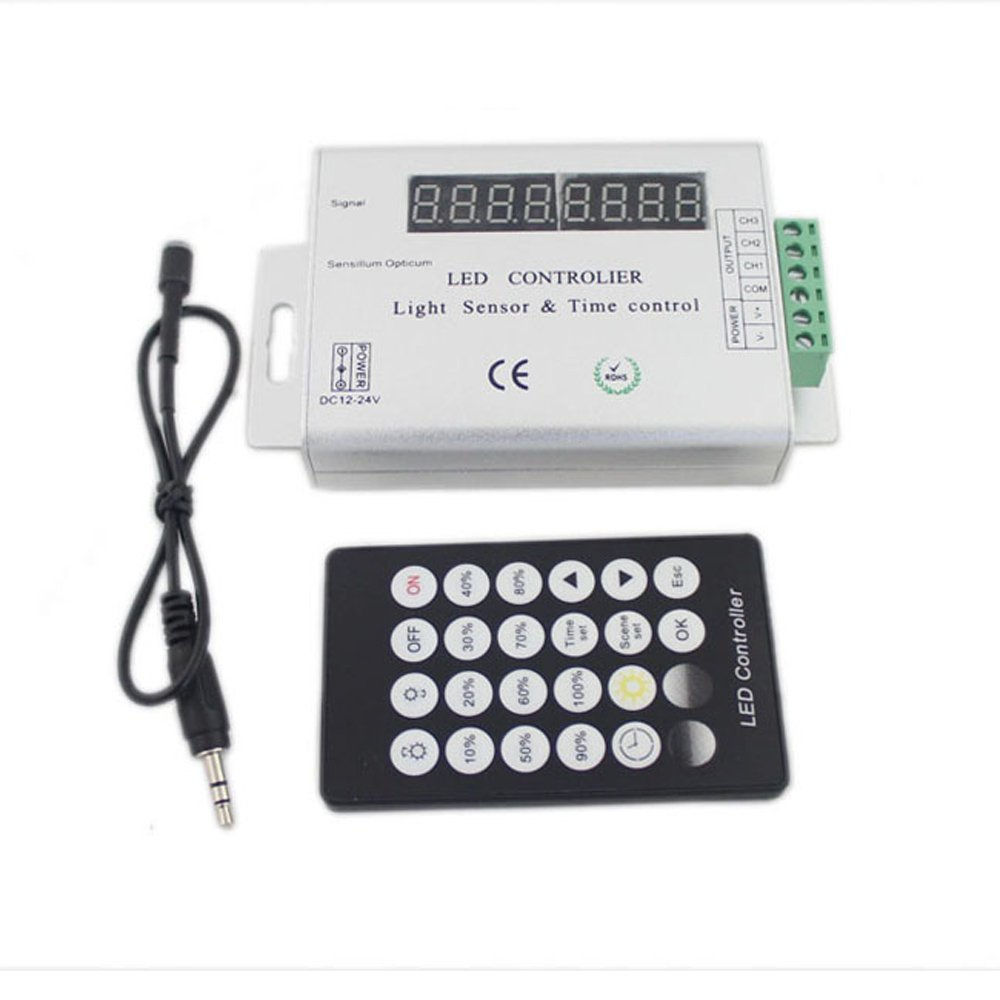 Gizmo Supply Intelligent Light Sensor and Time Programmable LED Controller