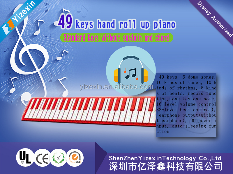 61 keys, 88 keys Midi usd 49 keys Musical Instrument Roll up soft Digital Piano