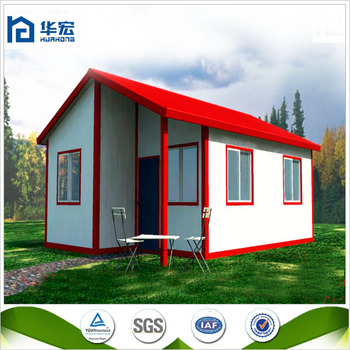 Easy Install Low Cost Single Floor 50m2 House Design/plan