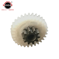 Hot selling plastic injection overmould company rack and gear set Custom POM Engineering
