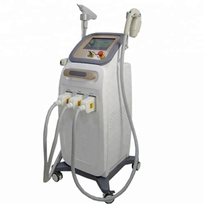New design Multifunction beauty machine 810 diode laser hair removal/ ipl / nd yag laser