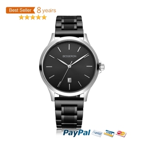 2018 Oem Uhr Brand Watches Men Wrist Water Resistant Stainless Steel Metal Band Amazon Top Sell Mens Luxury Rollex Watch
