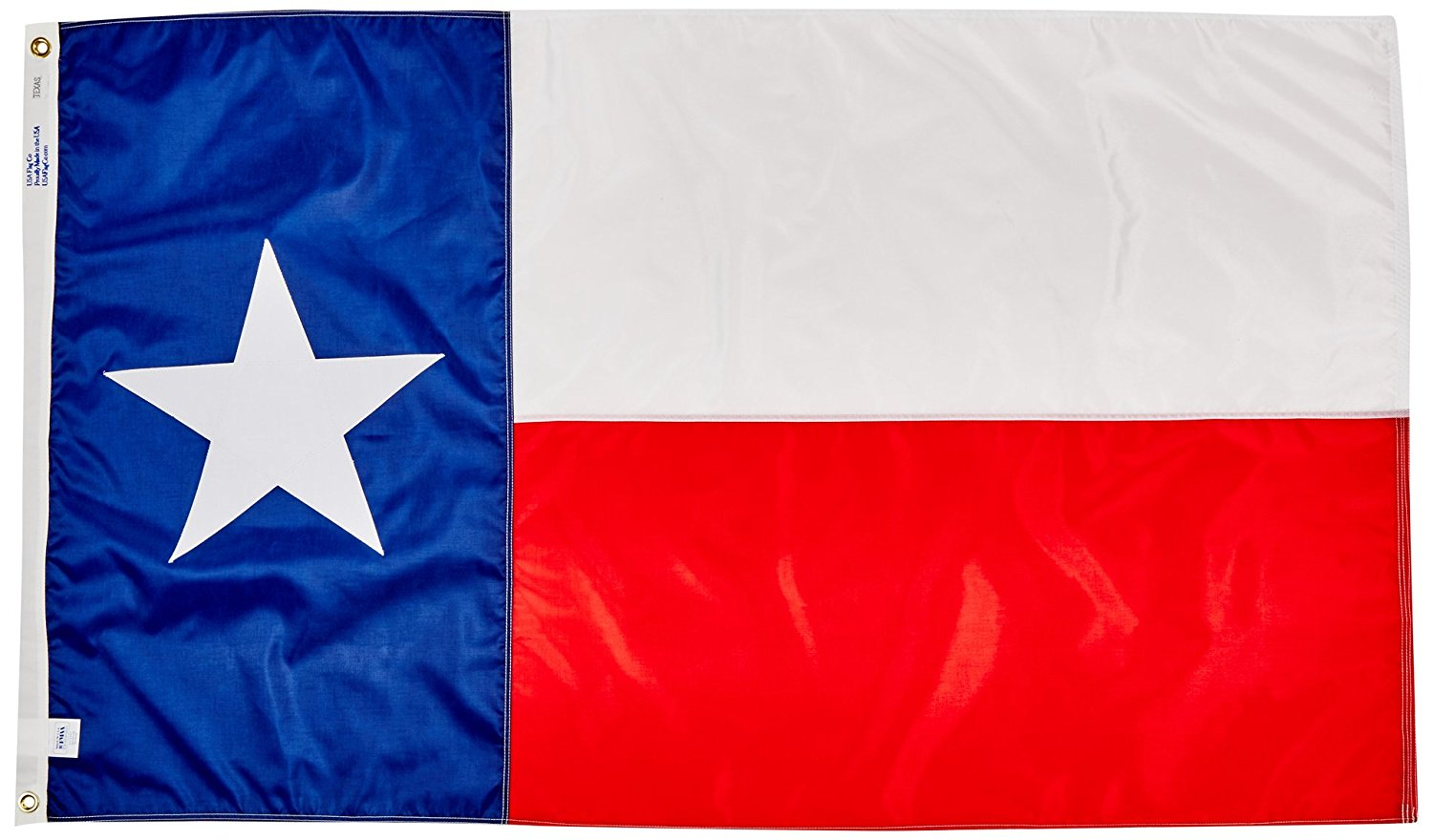 USA Flag Is 100% American Made: The Best Texas State Flag with Made In The United States of America, 3 By 5 Foot