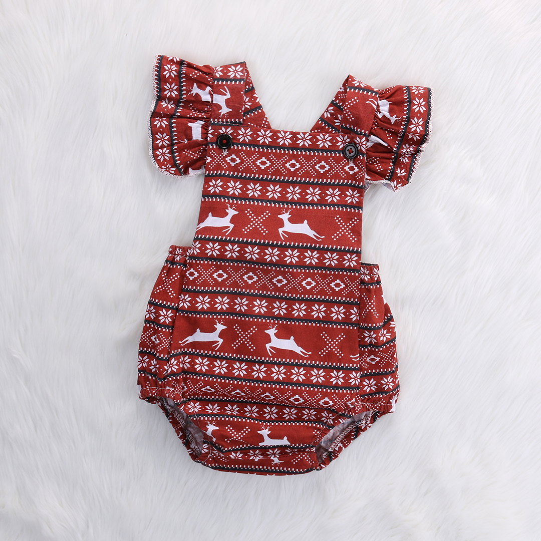 f8fc304ce Detail Feedback Questions about Toddler Baby Girl Deer Ruffles Deer ...