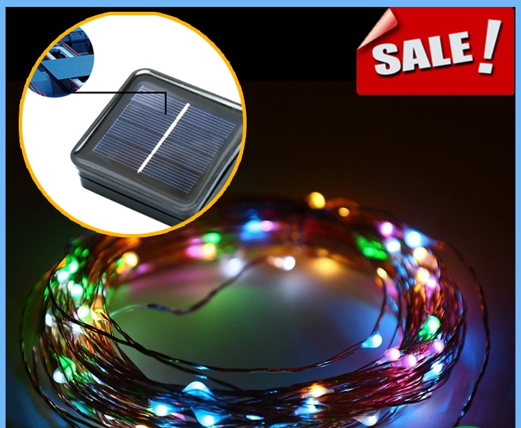 g15 Decoration Solar Powered Christmas Pathway Lights Led Cooper Wire String Lights