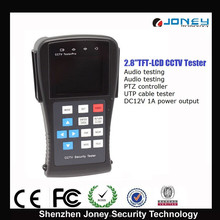 2.8 inch Digital TFT LCD Monitor Security Camera CCTV Tester pro