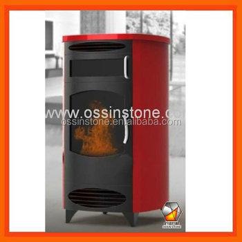 Caldo moderno 9kw stufe a pellet con forno buy product - Stufe pellet con forno ...