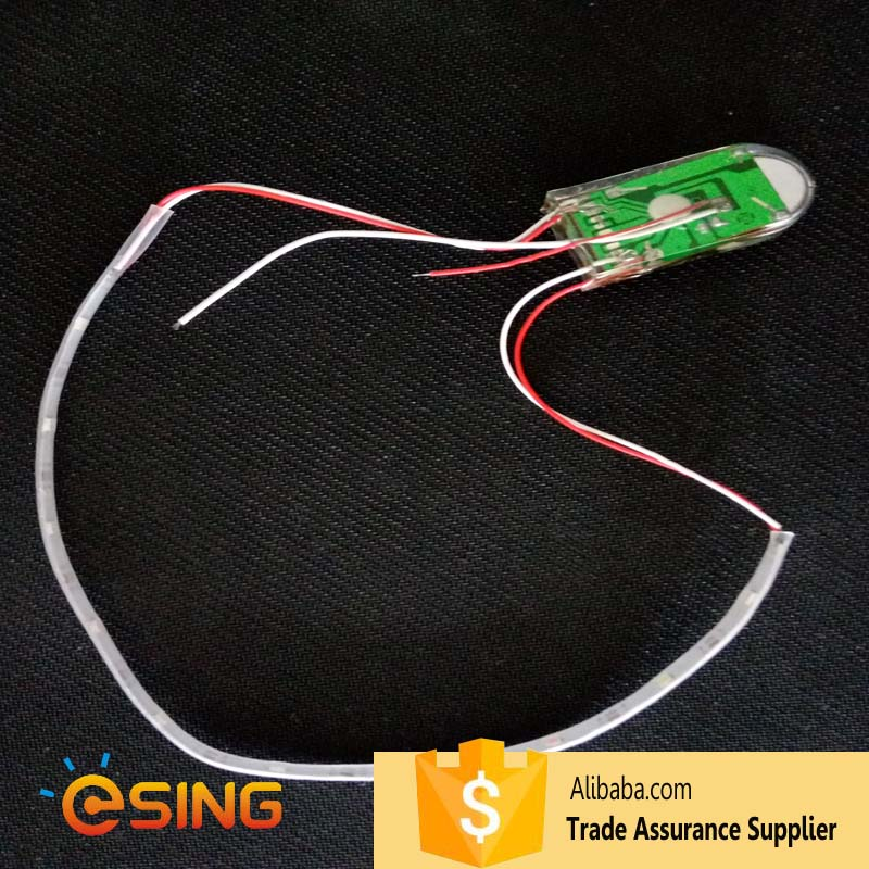 quad row flash model Rechargeable battery led strip light