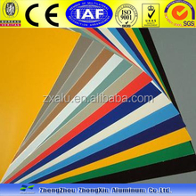 color coated aluminum sheet for decoration 3003 3004 5052 5083/Coating PVDF PE