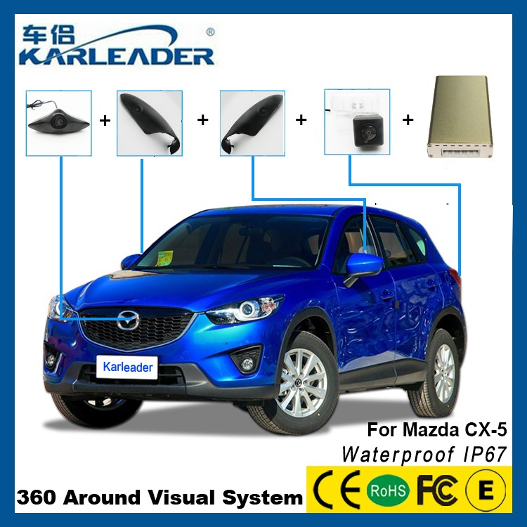 Bird View 360 Degree Car Camera System For Mazda Cx5