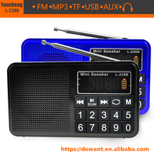L-238B MP3 speaker music player <span class=keywords><strong>rádio</strong></span> fm <span class=keywords><strong>usb</strong></span> speaker, mini <span class=keywords><strong>rádio</strong></span> fm digital