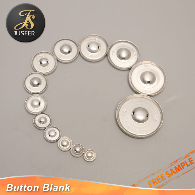 Wholesale Upholstery Buttons Self Cover Button With Thick Iron Leg