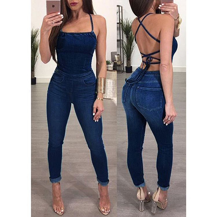 Lifu Sexy Dames Playsuits Mouwloze Plus Size Rompertjes Jumpsuits Vrouwen 2019