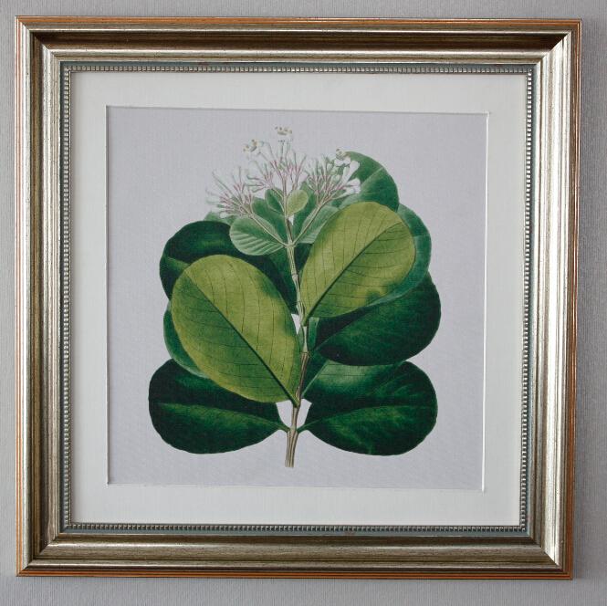 Venta caliente pintura del árbol abstracto enmarcado arte de la ...