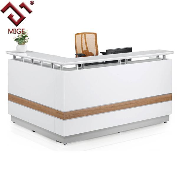 L Shaped Reception Desk Counter Hostgarcia