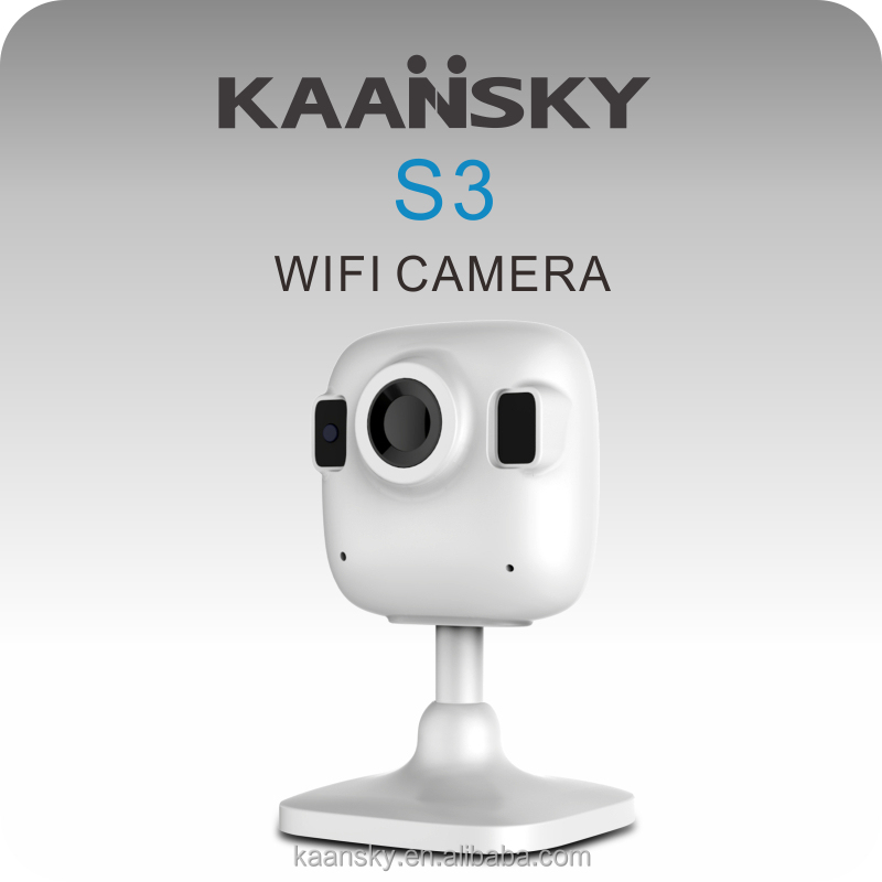 KAANSKY 2017 Hot selling mobile remote view P2P 960P 1.3mp HD Home security mini wifi IP camera