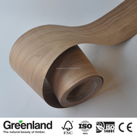 High Quality American Walnut Adhesive Roll Veneer for Frame Moulding