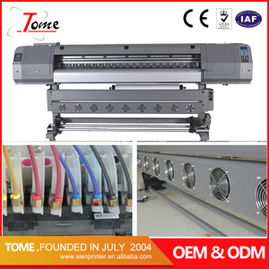 banner outside eco solvent printer / digital flex sign printing machine price