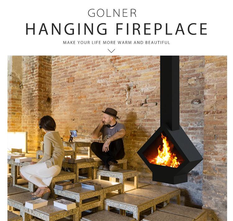 German Wood Stoves Hanging Wood Heater Smokeless Indoor Warming